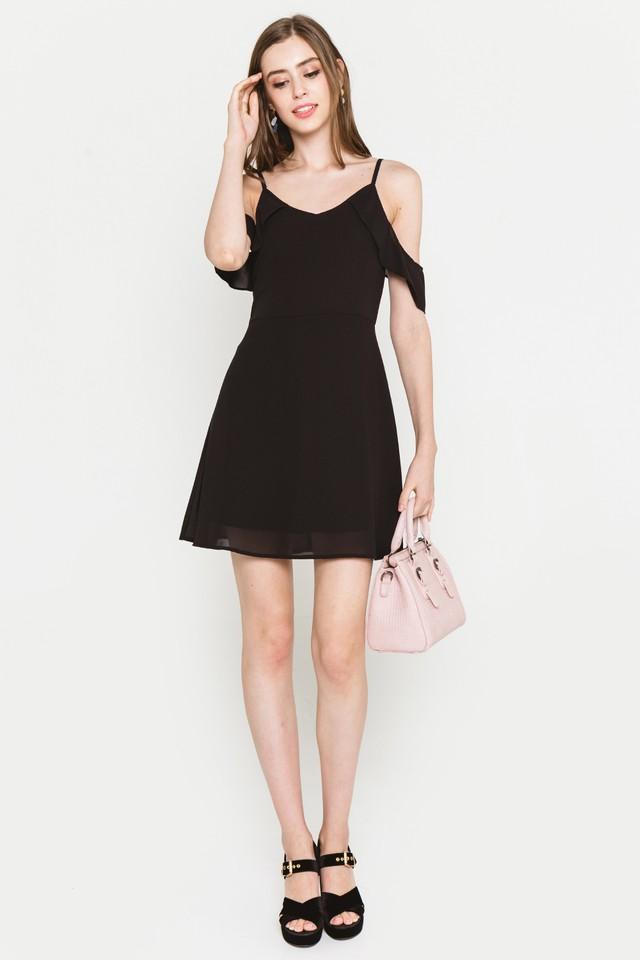 Saffron Dress Black