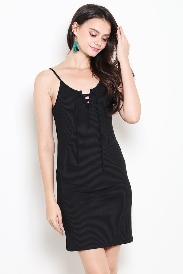 Maine Dress Black