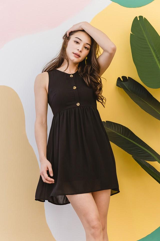 Leena Dress Black
