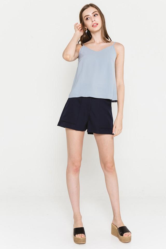 Alisa Top Grey Blue