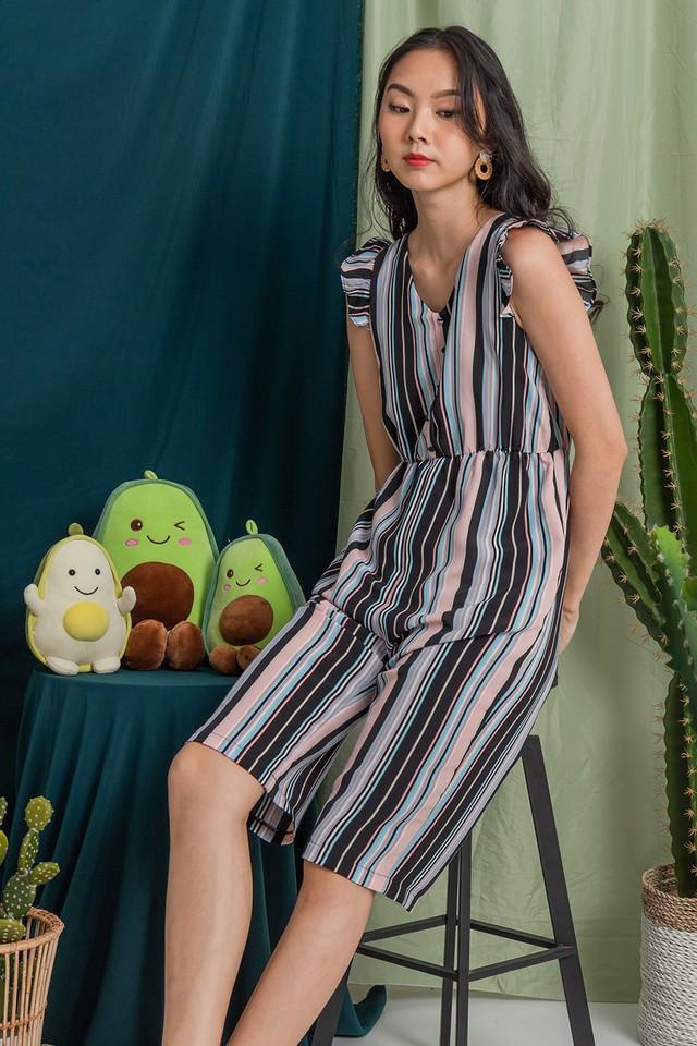 Emmalyn Jumpsuit Stripes
