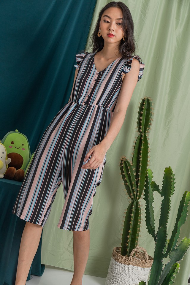 Emmalyn Jumpsuit Stripes
