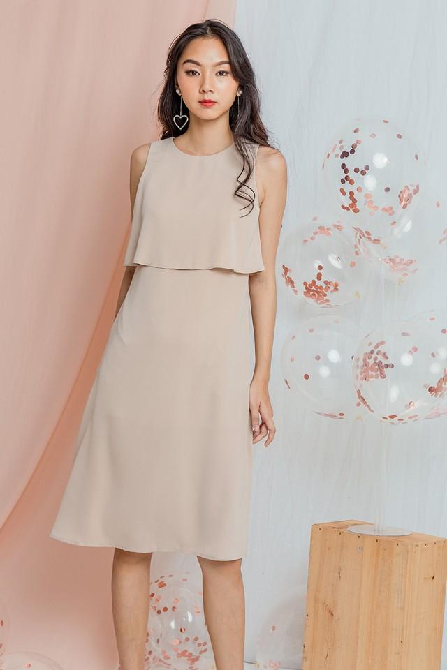 Ysabel Dress Almond