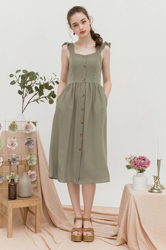 Briella Dress Sage