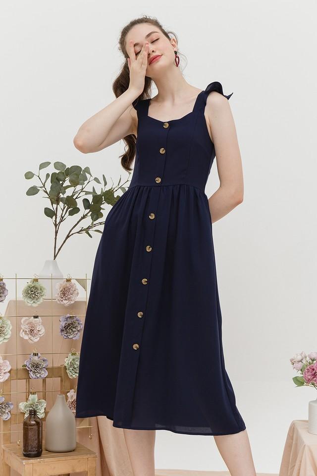 Briella Dress Navy