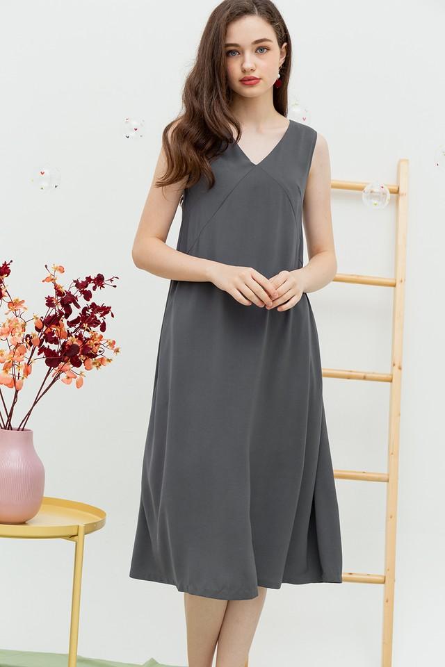 Carlynn Dress Grey