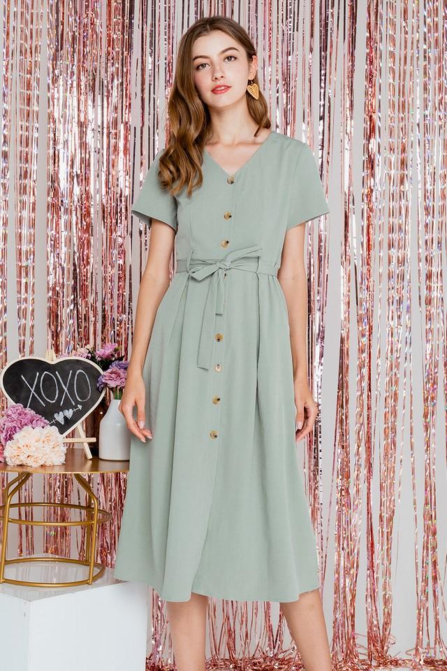 Yessica Dress Sage