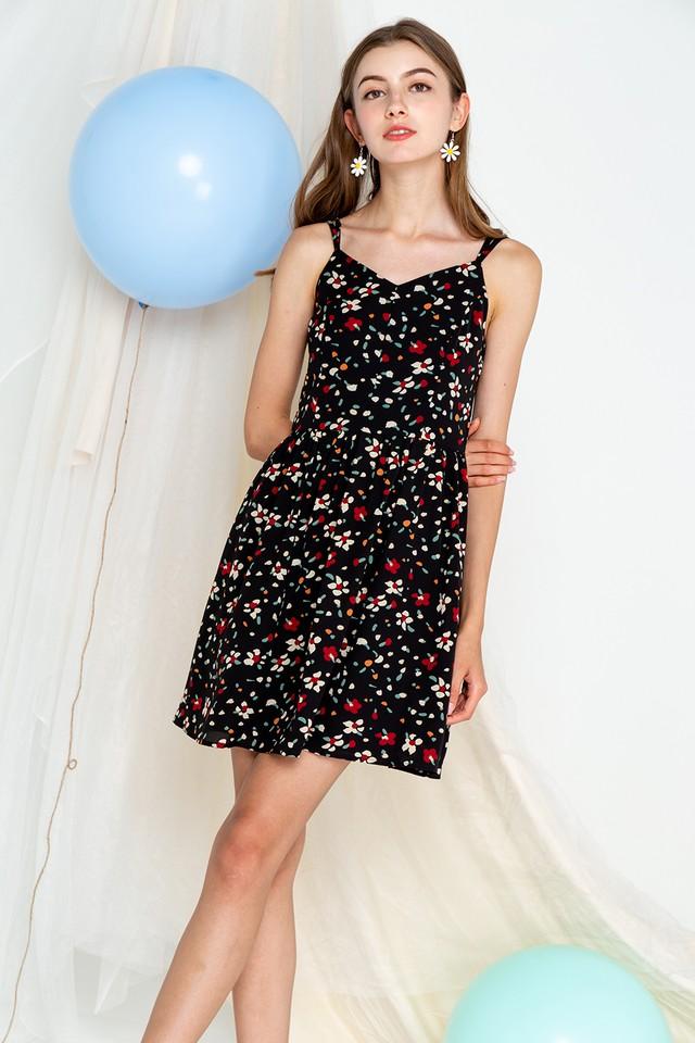 Carrol Dress Black Print