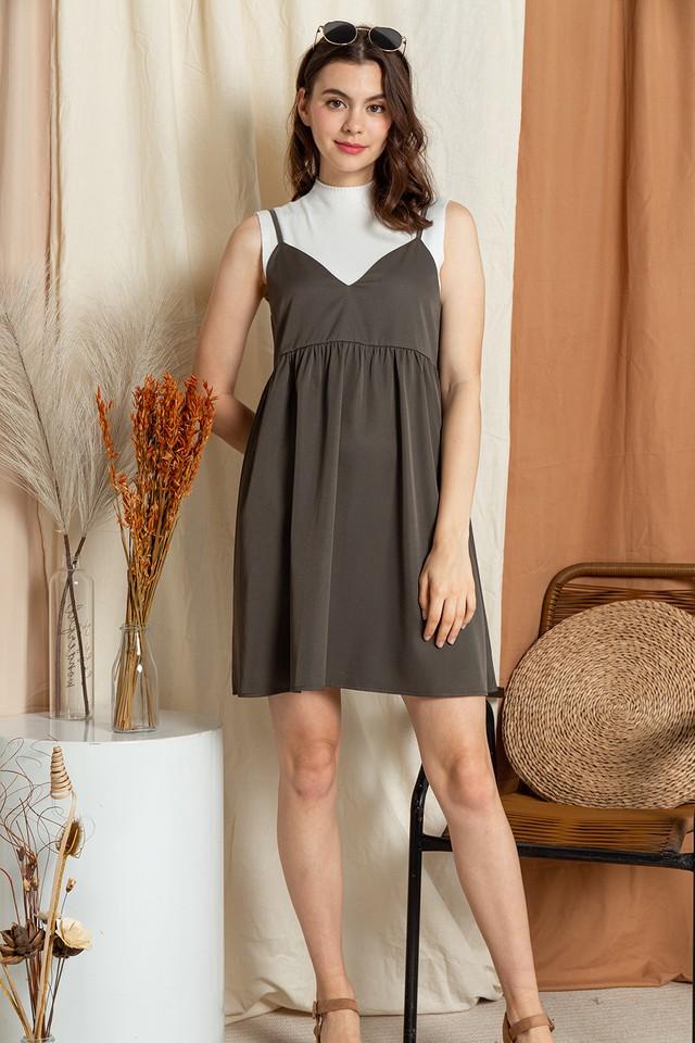 Seanna Slip On Dress Army