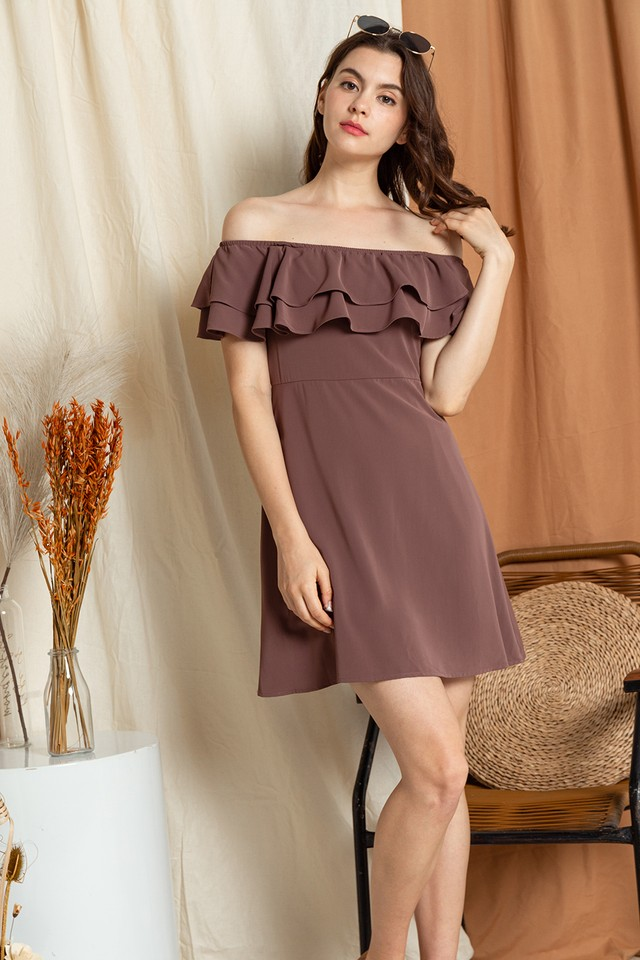 Jayla Dress Mauve