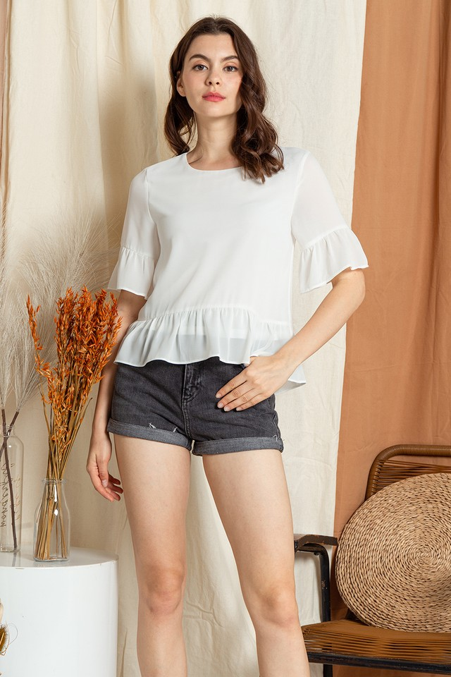 Koddie Top White