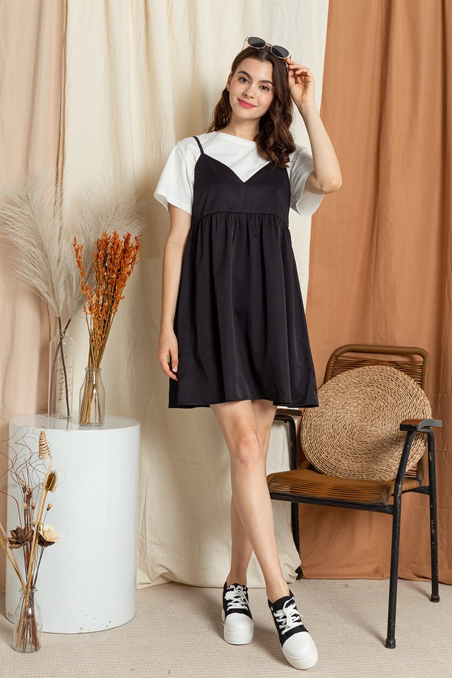 Seanna Slip On Dress Black