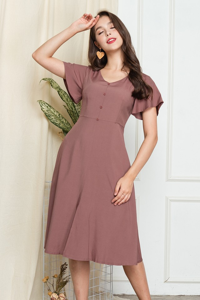 Darryn Dress Mauve