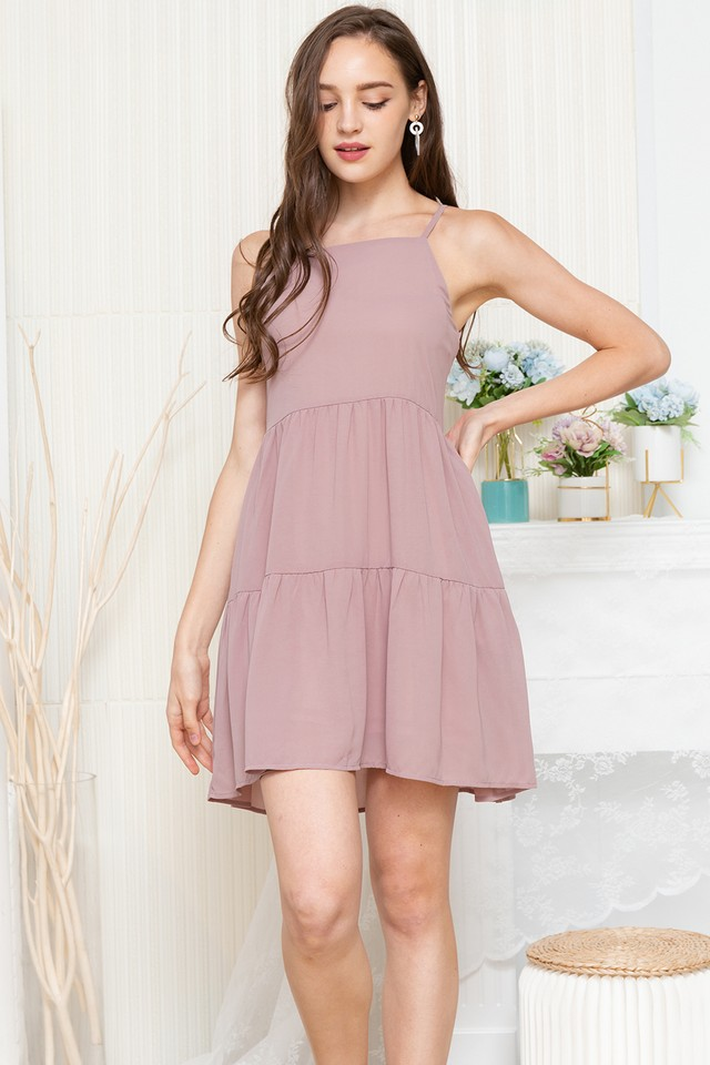 Jadyn Dress Dusty Pink