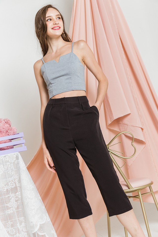 Kyleigh Culottes Black