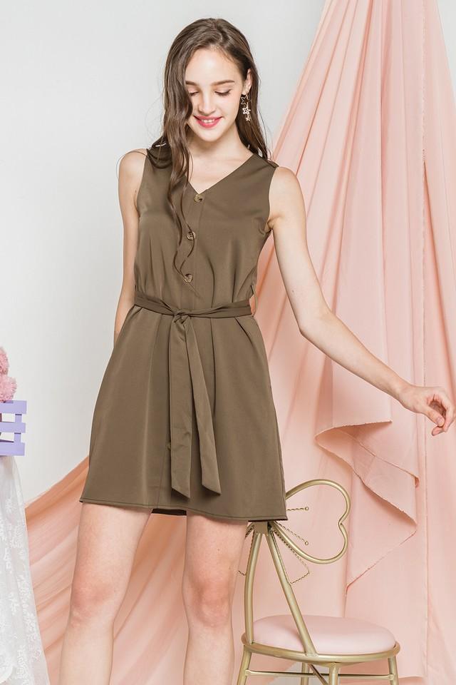 Devonne Dress Olive