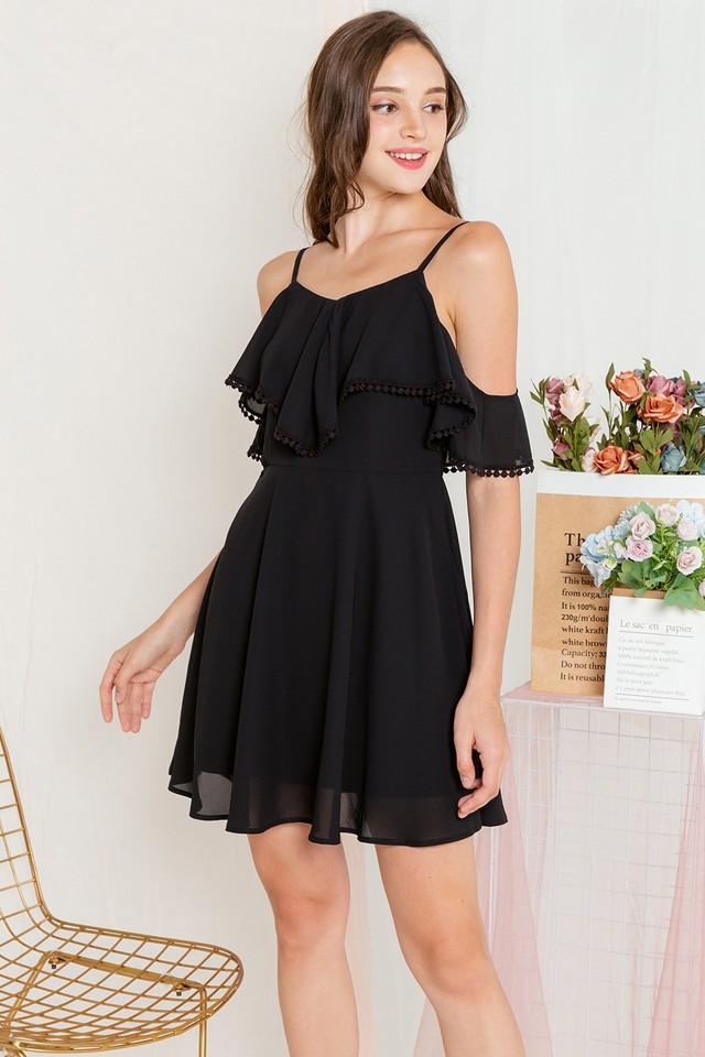Angelia Dress Black