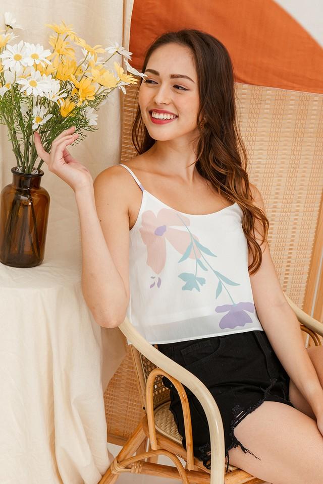 Lorrana Top Pastel Floral