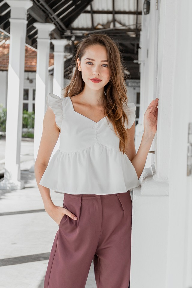 Joselyn Top White
