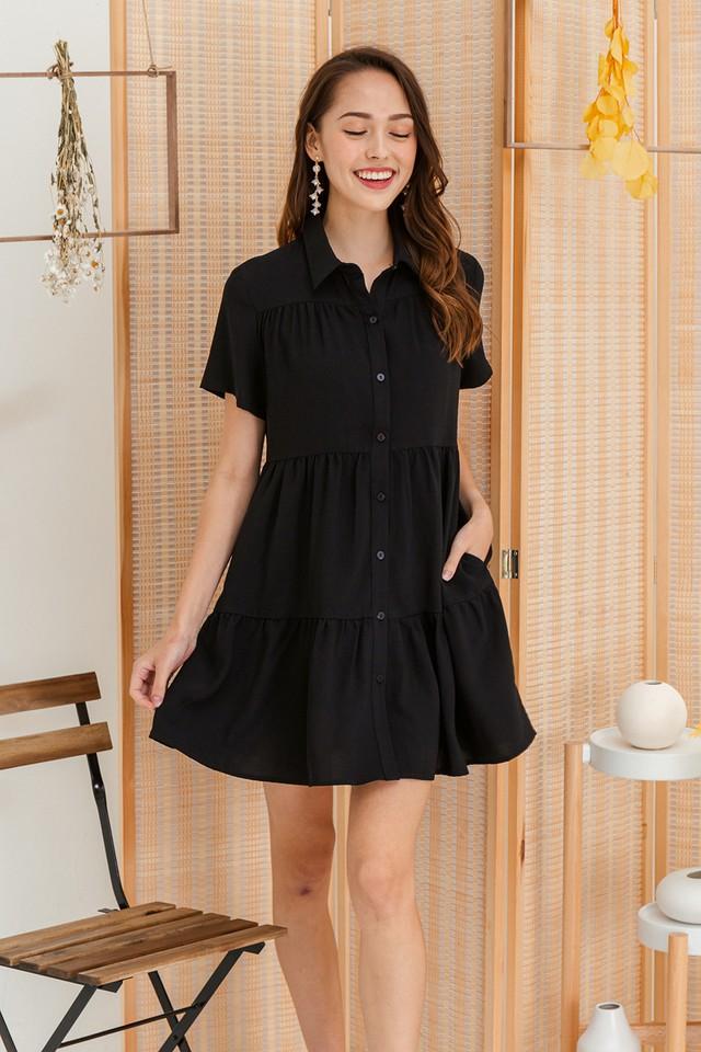 Jordana Shirtdress Black