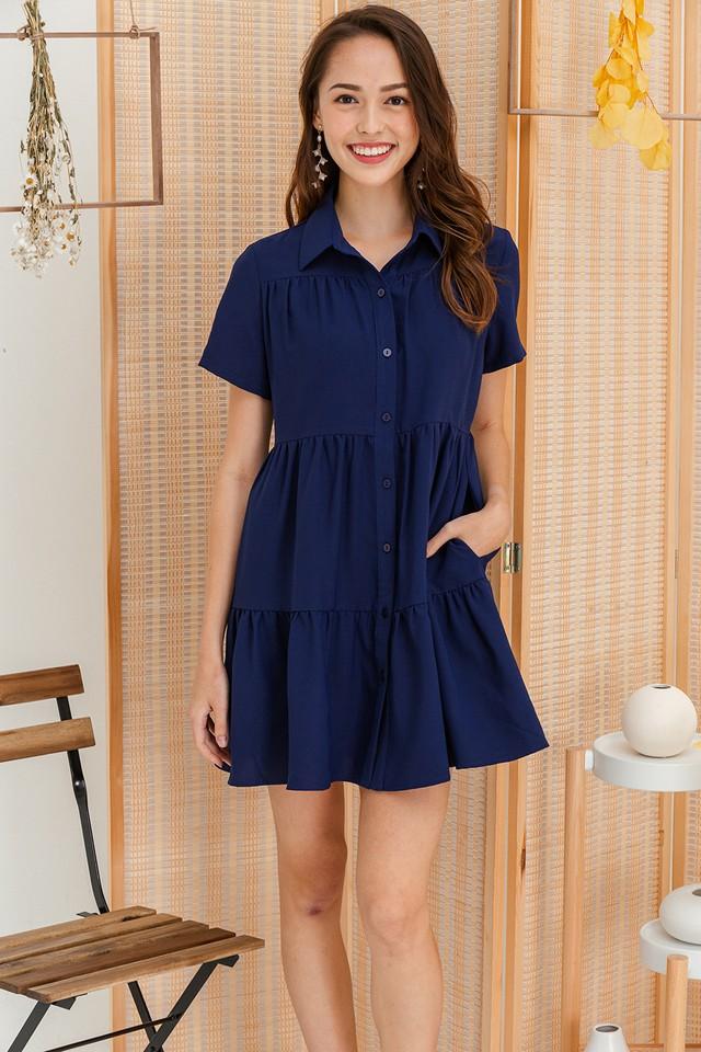 Jordana Shirtdress Navy