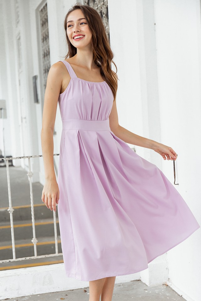 Lenora Dress Lilac Pink