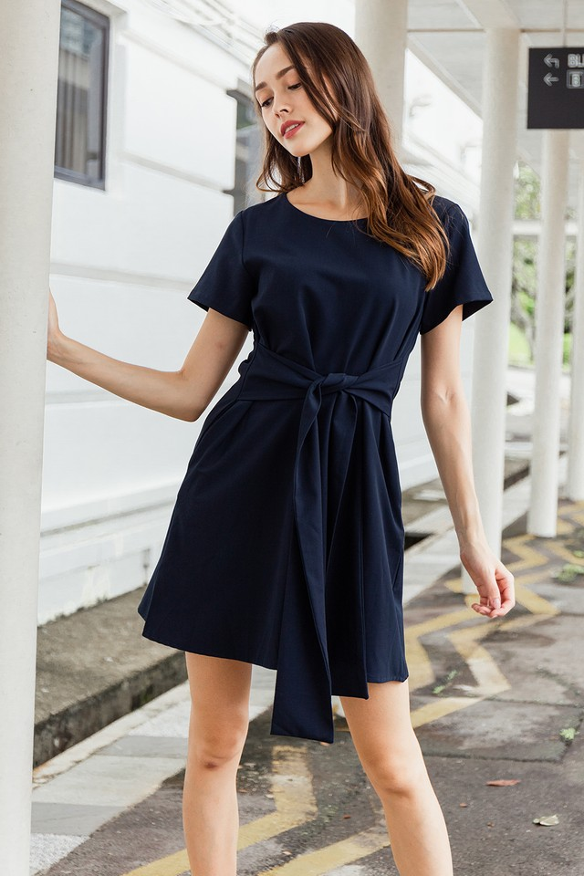 Aislin Dress Navy