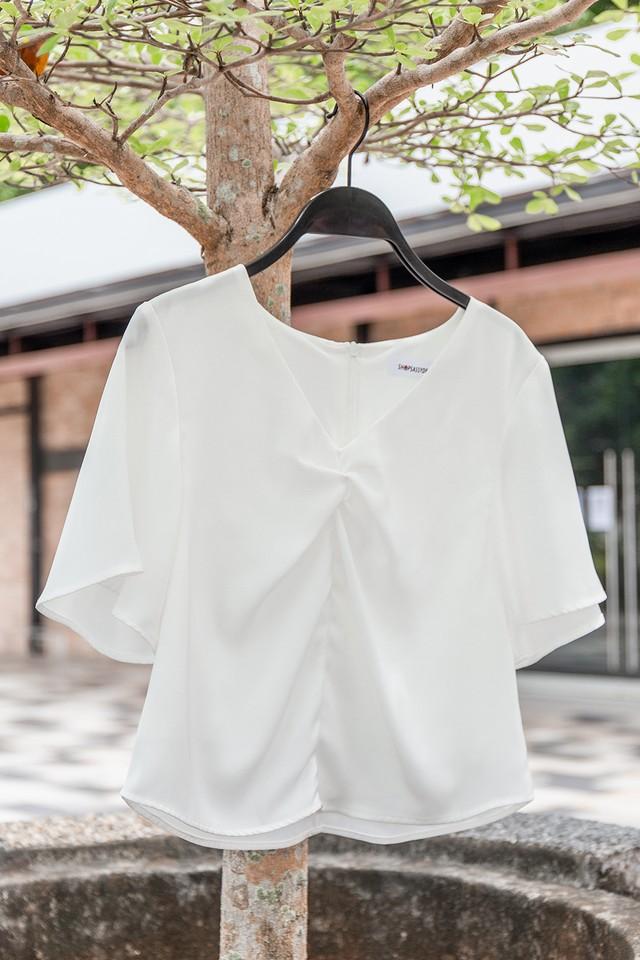 Aura Top White