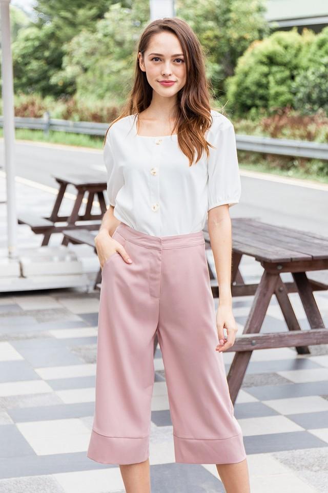 Devona Culottes Pink