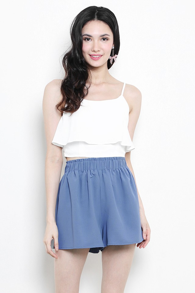 Tasha Shorts Ash Blue