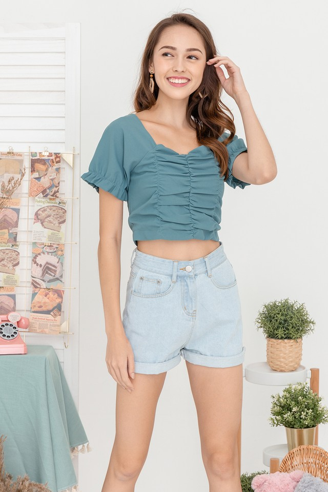 Lynna Top Emerald