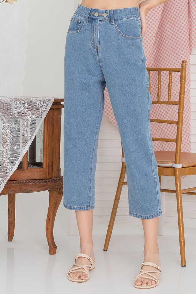 Xaviera Denim Jeans Mid Wash