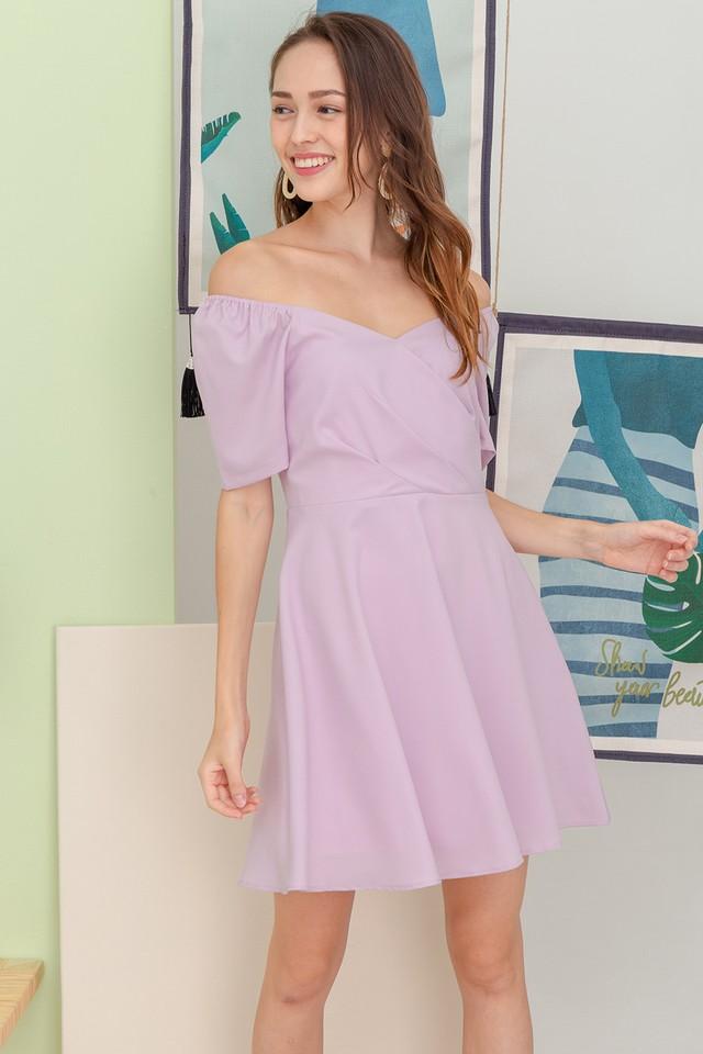 Tonnia Dress Pink Lilac