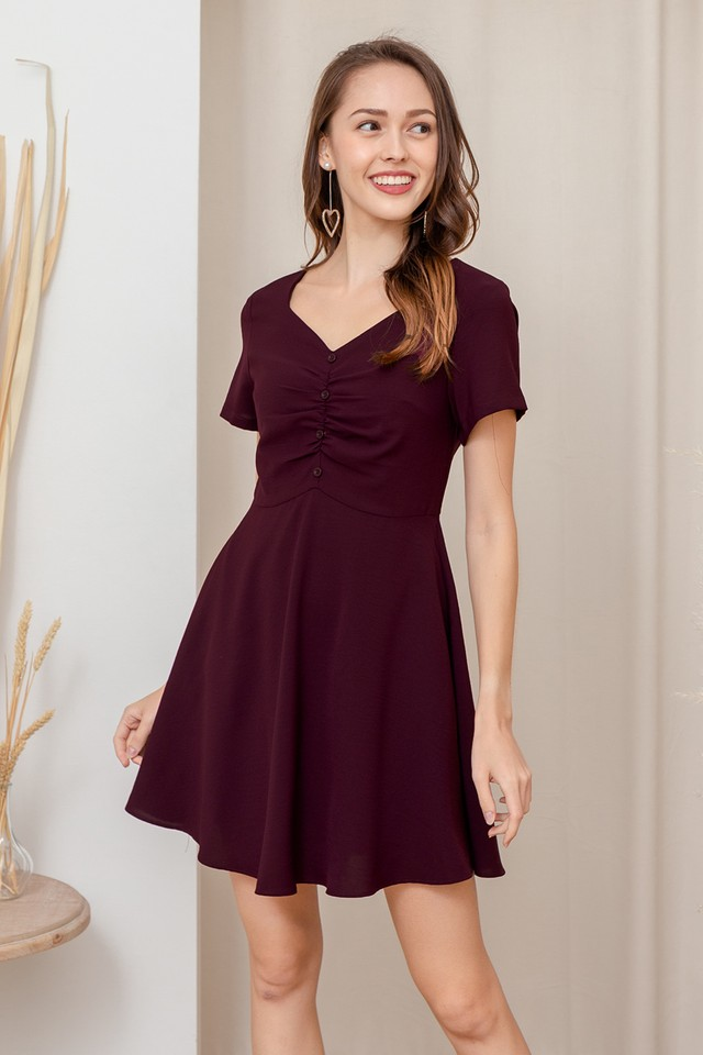 Lani Dress Wine