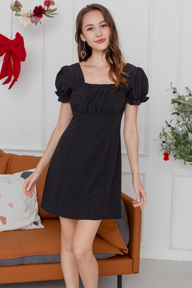 Harleen Dress Black