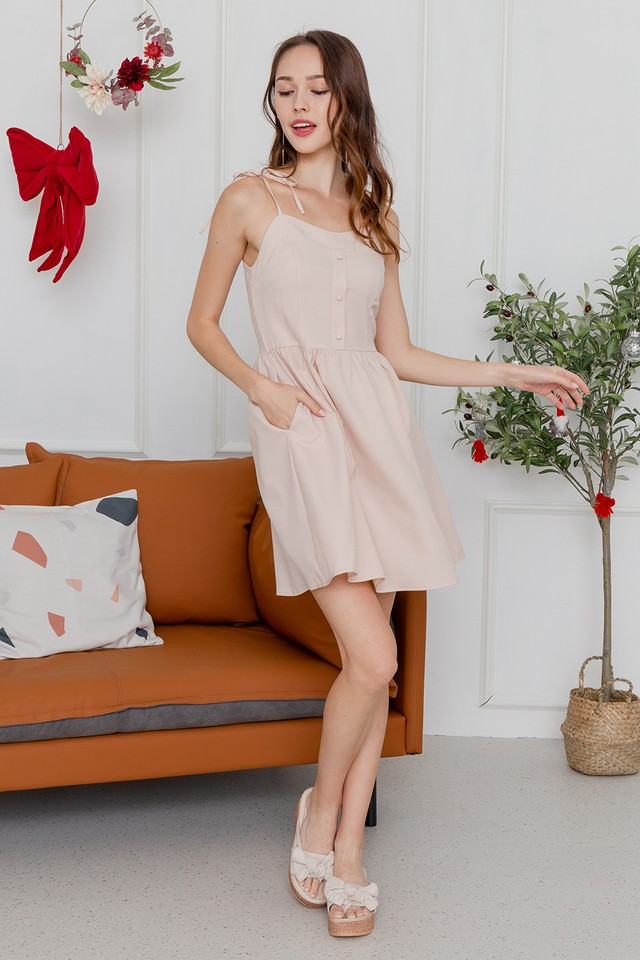 Candice Dress Peach