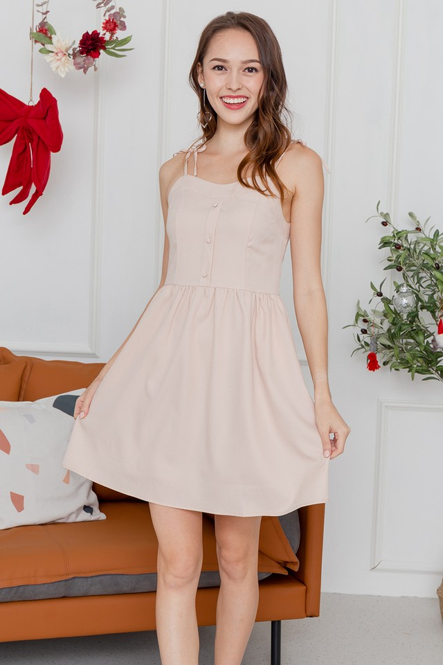 Candice Dress Peach