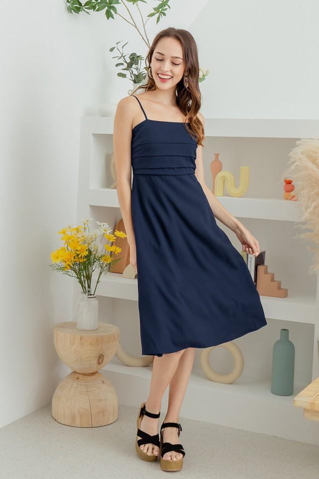Mathilde Dress Navy