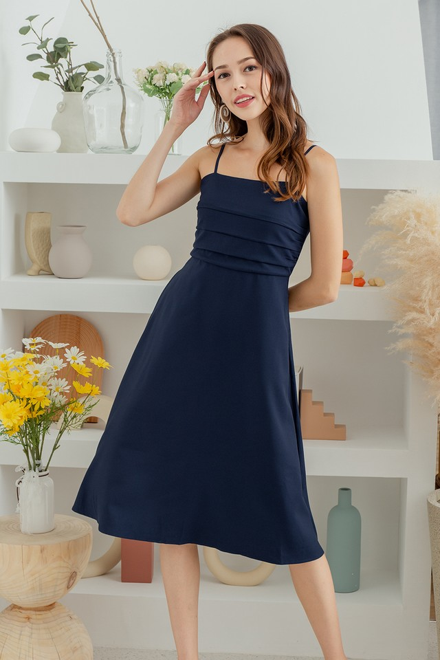 Mathilde Dress Navy