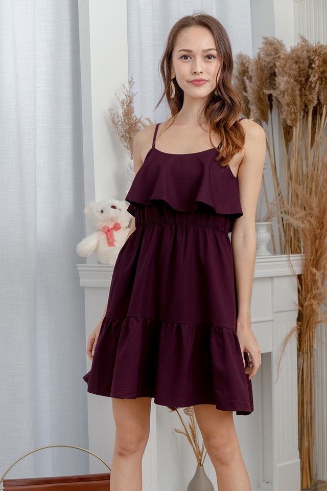 Tallon Dress Burgundy