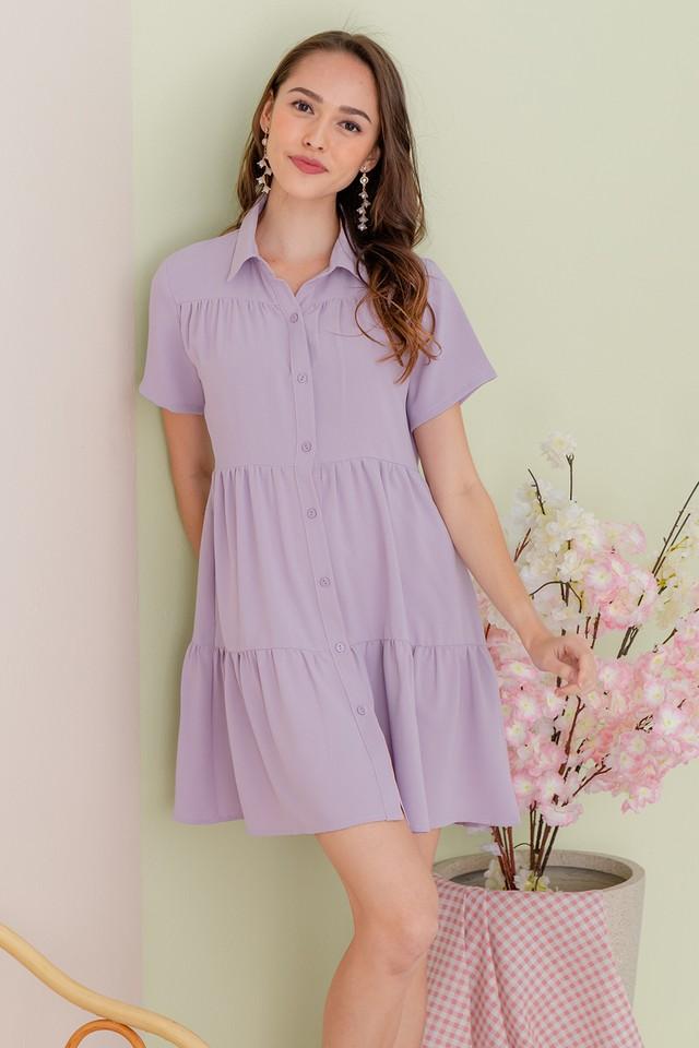 Jordana Shirtdress Lilac