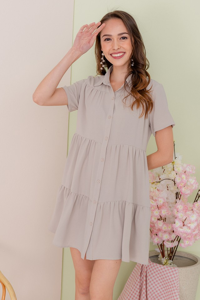 Jordana Shirtdress Sand