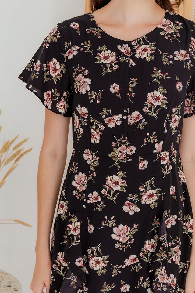 Karia Dress Black Floral