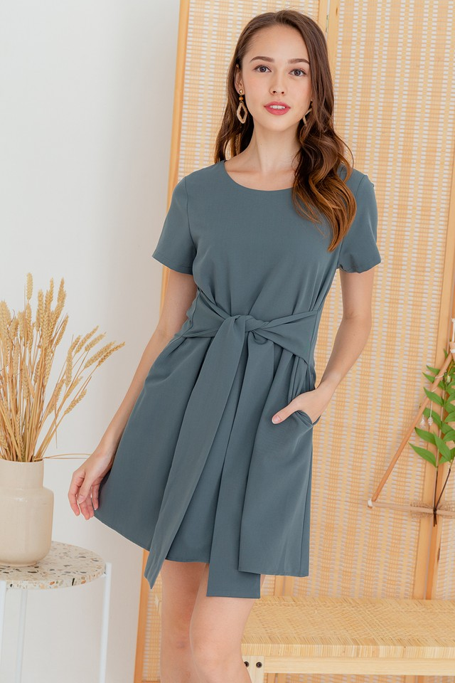 Aislin Dress Grey