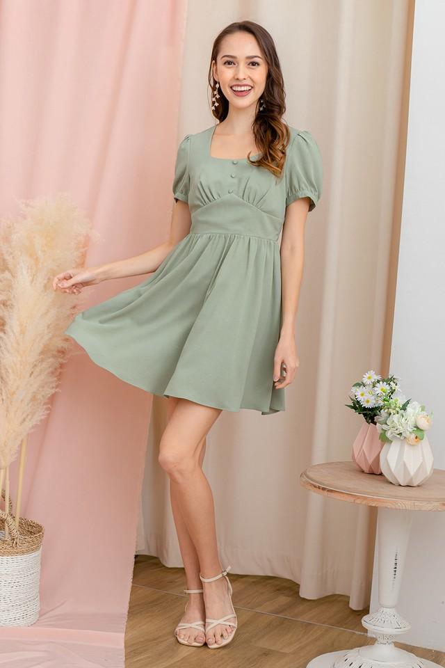 Orinna Dress Sage