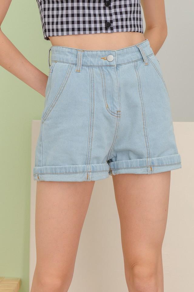 Anissa Denim Shorts Light Wash