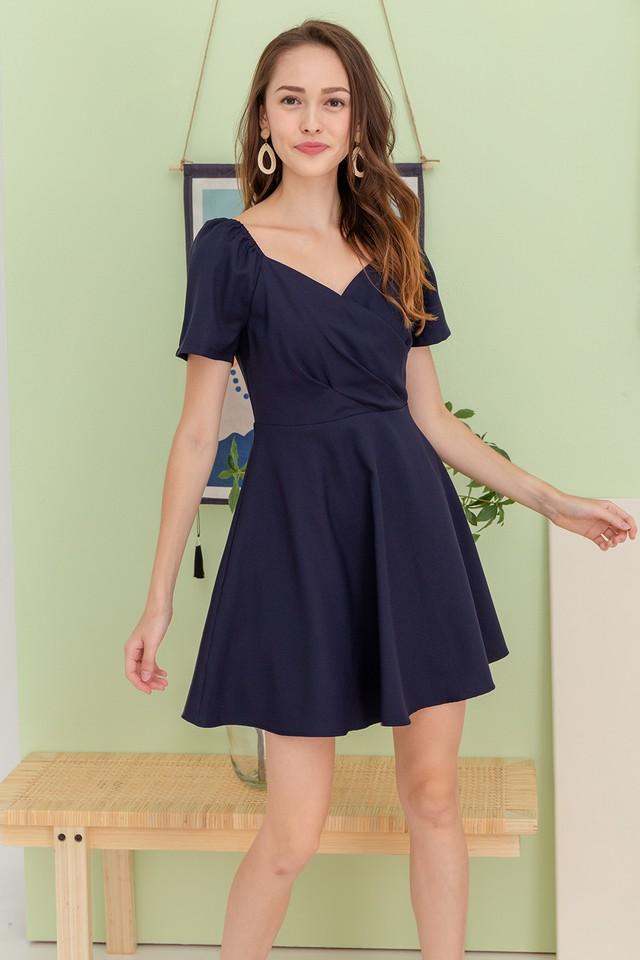 Tonnia Dress Navy