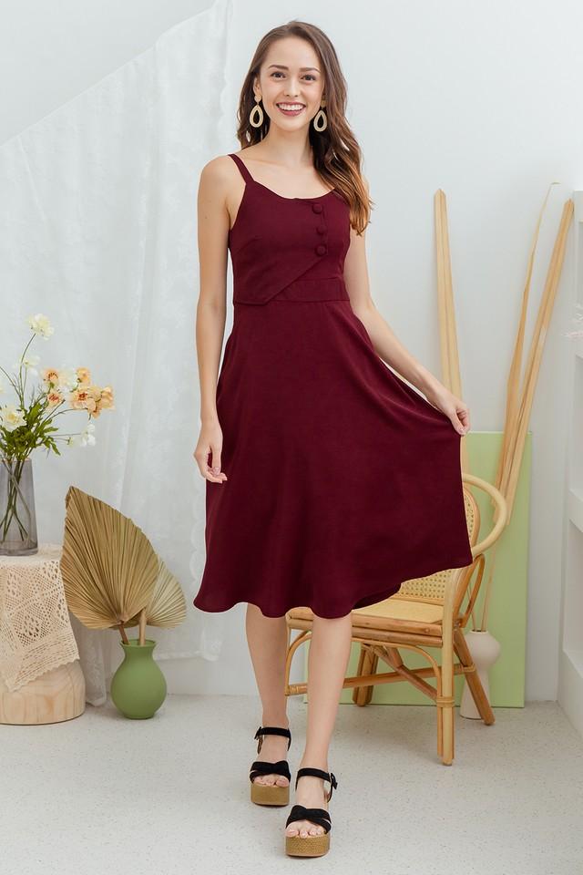 Endera Dress Wine