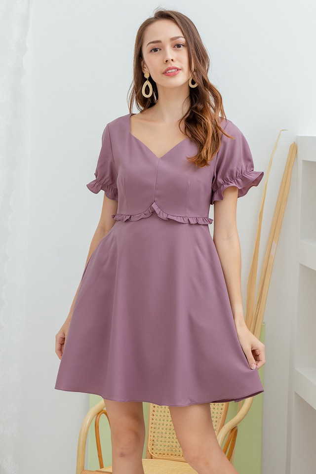 Linden Dress Mauve