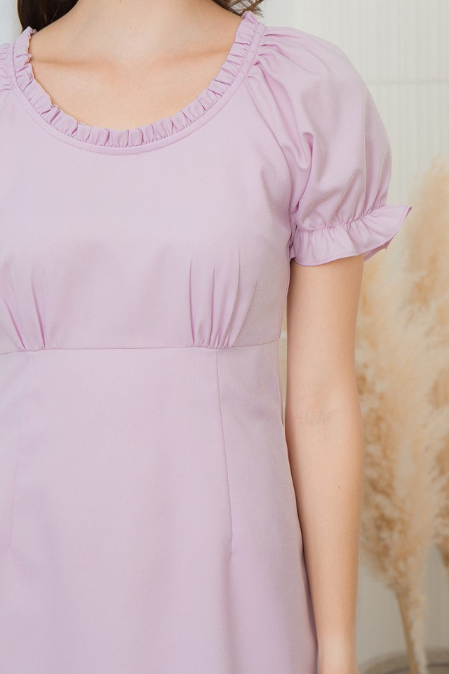 Scottia Dress Pink Lilac